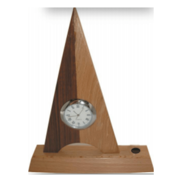 Wooden Pen Stand With Triangle Head
