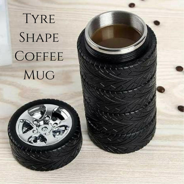 Tyre Shape Coffee Mug
