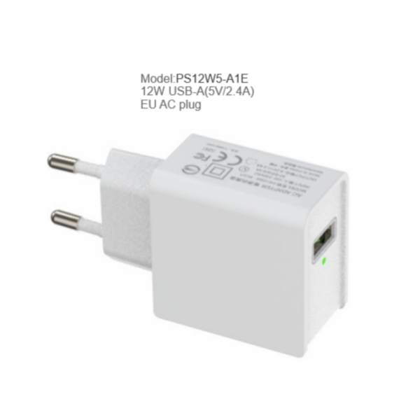 12W/10.5W Smart USB Charger